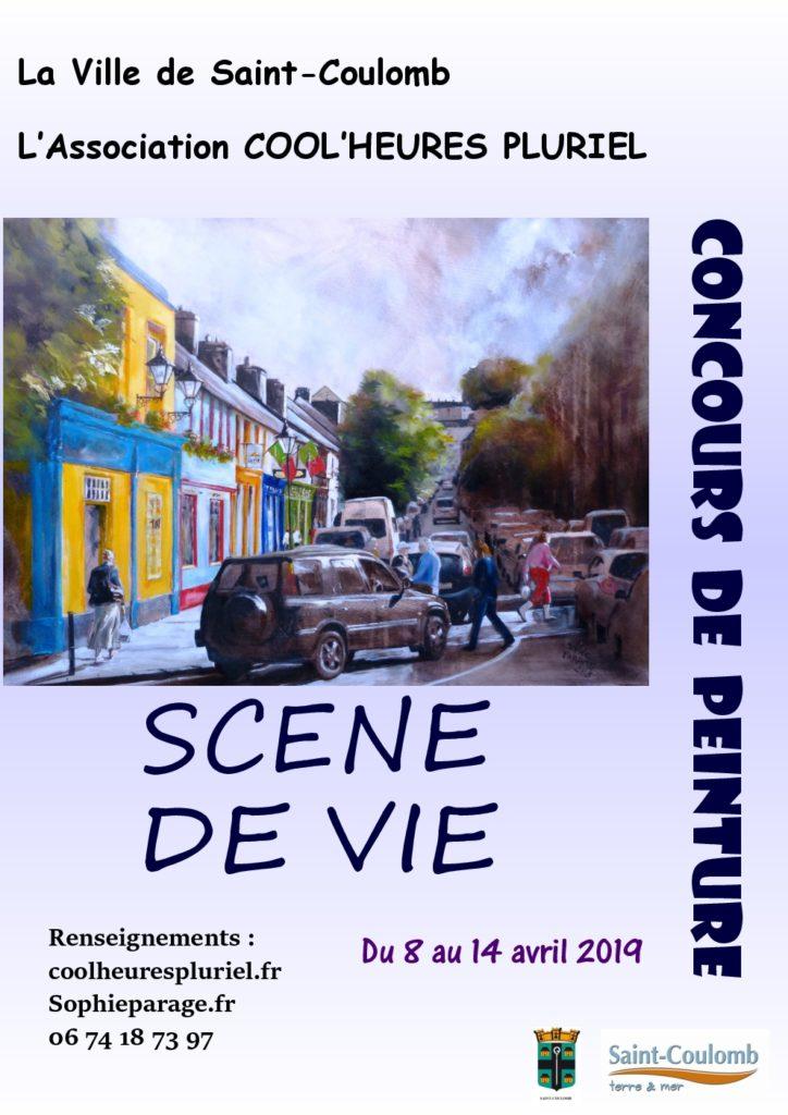 Grand prix de peinture St Coulomb 2019