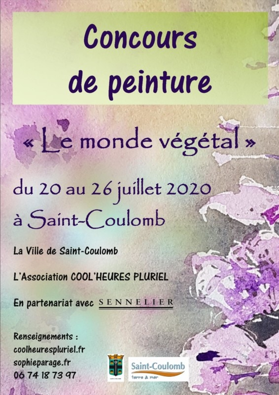 concours peinture st coulomb 2020